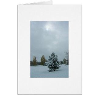 Boulder, Colorado Winter Greeting Card