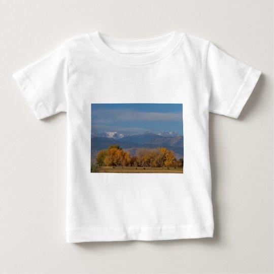 Boulder County Colorado Continental Divide Autumn Baby T-Shirt