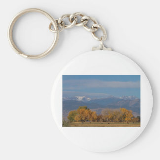Boulder County Colorado Continental Divide Autumn Keychain