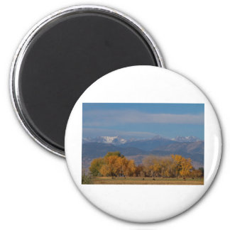 Boulder County Colorado Continental Divide Autumn Magnet