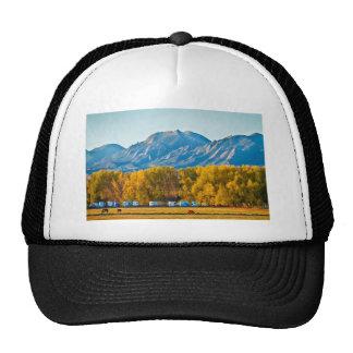 Boulder County Colorado Flatirons Autumn View.jpg Trucker Hat