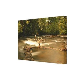 Boulder Creek - Balanced Rocks Canvas Print