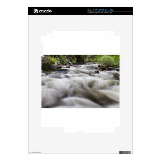 Boulder Creek in Slow Mo Skins For iPad 2