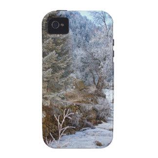 Boulder Creek Winter Wonderland iPhone 4 Covers