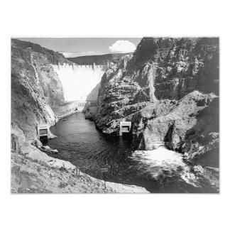 Boulder Dam (aka Hoover Dam) by Ansel Adams Photo Print