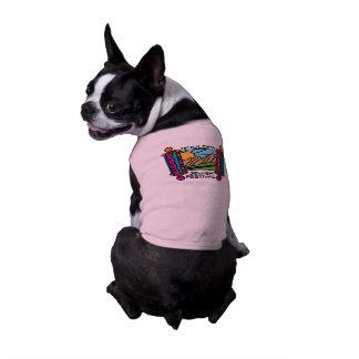 Boulder Jewish Festival Classic Logo Doggie shirt
