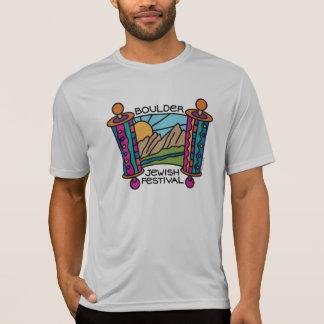 Boulder Jewish Festival Classic Logo Men's Sport-T Tshirt
