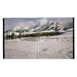 Boulder Mountain View iPad Cases