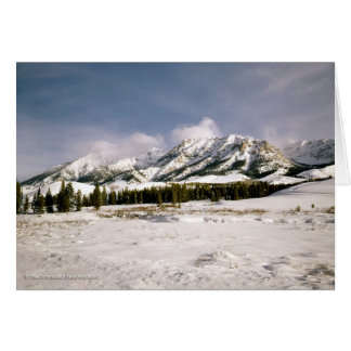 Boulder Mountain View Stationery Note Card