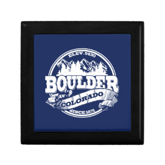 Boulder Old Circle Blue Keepsake Box