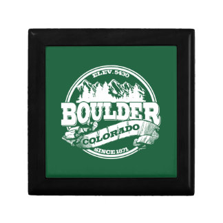 Boulder Old Circle Green Jewelry Boxes
