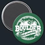 "Boulder Old Circle Green Magnet<br><div class=""desc"">Boulder Colorado Old Circle Green Logo</div>"