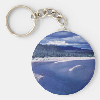 Boulder Point on the Coleen River Keychain