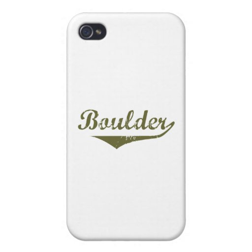 Boulder Revolution tee shirts iPhone 4 Case