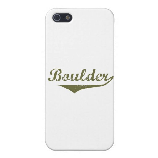 Boulder Revolution tee shirts iPhone 5 Cases