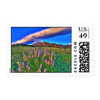 Boulder Skies Postage