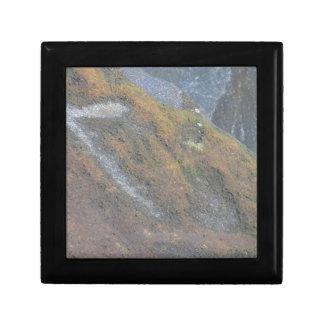 Boulder Surface Texture Gift Box