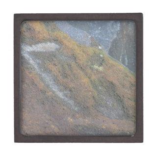 Boulder Surface Texture Premium Trinket Boxes