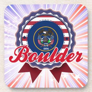 Boulder UT Drink Coasters