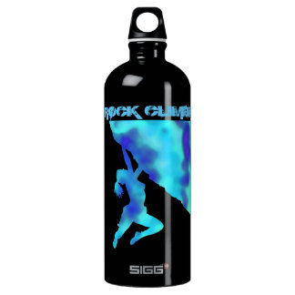 bouldering ecstacy (blue)climber SIGG water bottle