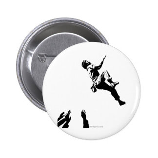 Bouldering Graphic Button