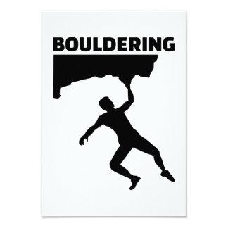 """Bouldering Invitación 3.5"""" X 5"""""""