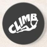Bouldering Rock Climbing Beverage Coasters