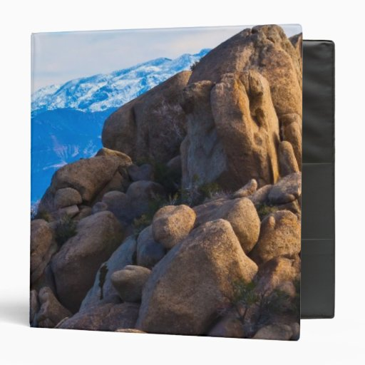 Boulders and Mountains 3 Ring Binders