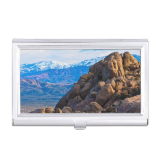 Boulders and Mountains Case For Business Cards