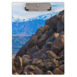 Boulders and Mountains Clipboard