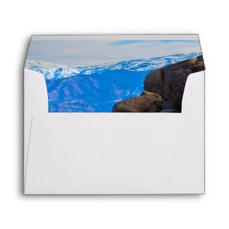 Boulders and Mountains Envelope