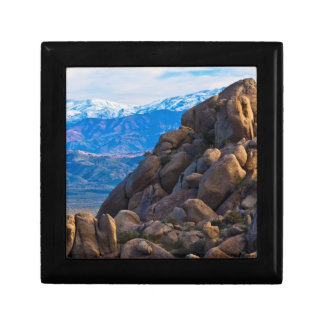 Boulders and Mountains Trinket Box