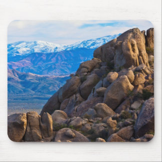 Boulders and Mountains Mouse Pad