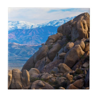 Boulders and Mountains Tile