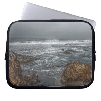 Boulders by the Coast Laptop Sleeve