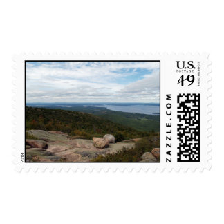 Boulders On Cadillac Mountain Postage Stamps