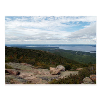 Boulders On Cadillac Mountain Postcards