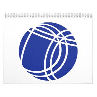 Boule Boccia Petanque Calendar