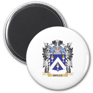 Boule Coat of Arms - Family Crest 2 Inch Round Magnet