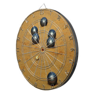 Boule Dartboard With Darts