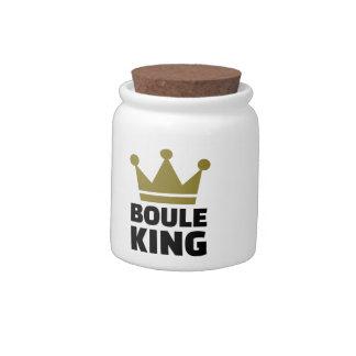 Boule king champion candy dish