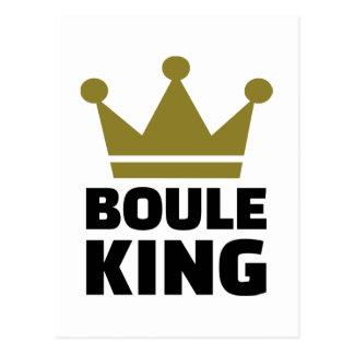 Boule king champion postcard