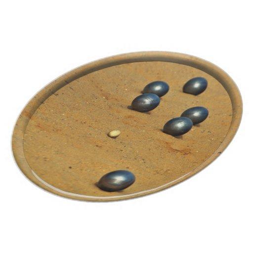 Boule Party Plate
