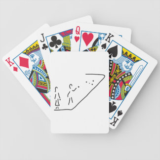boule petanque boules boocie player bicycle playing cards