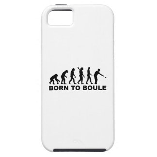 Boule Petanque de la evolución iPhone 5 Case-Mate Protectores