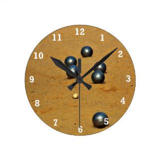 Boule Round Clock