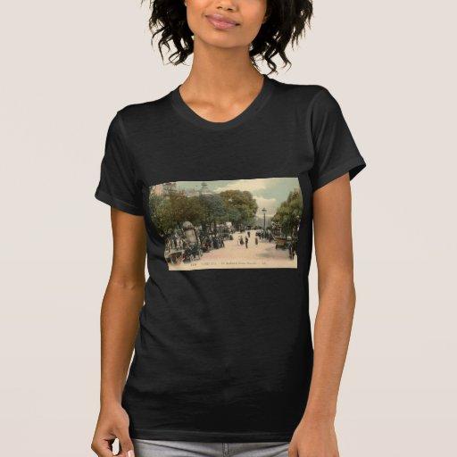Boulevard Bonne-Nouvelle, Paris 1910 Vintage T-shirt
