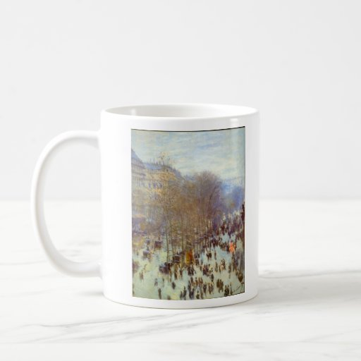 Boulevard Capucines by Claude Monet Coffee Mugs