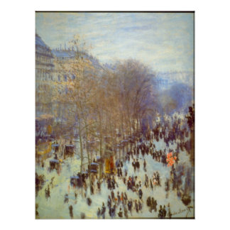 Boulevard Capucines by Claude Monet Posters