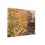 Boulevard des Capucines by Claude Monet Gallery Wrap Canvas